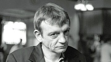 Mandatory Credit: Photo by David Pearson/REX/Shutterstock (551111az) Mark E Smith in a pub in Notting Hill, London - 1997 VARIOUS