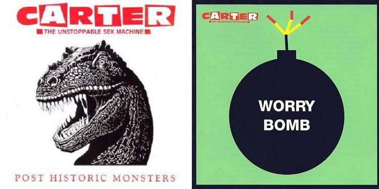 Post Historic Monsters - Carter The Unstoppable Sex